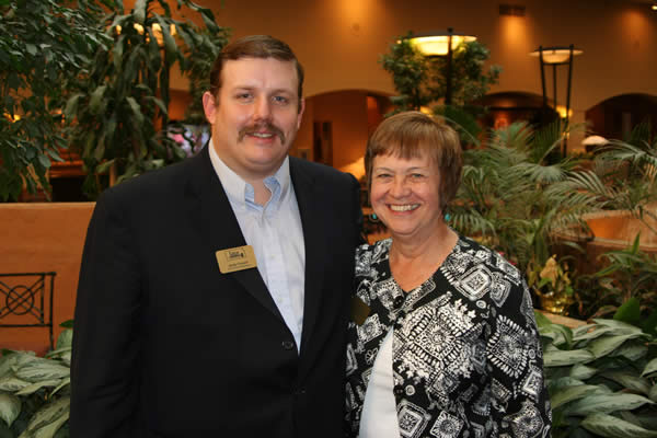 Andy Conser - 2010 KAA President and LaDonna Schoen-Gehring, KAA Exec. Director attended the NAA Leadership Conference on Jan. 25-26.