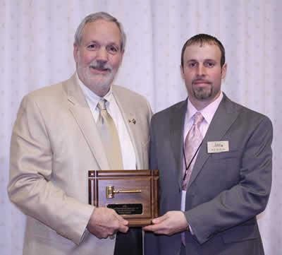 Richard Garvin is presented the 2009 KAA Award of Distinction