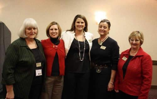 KAA Auxiliary Directors - Annette McCurdy, Cindy Haley, Stephanie McCurdy- Past President, Jean Oswalt- Sec. Treas., Ann Conser - President