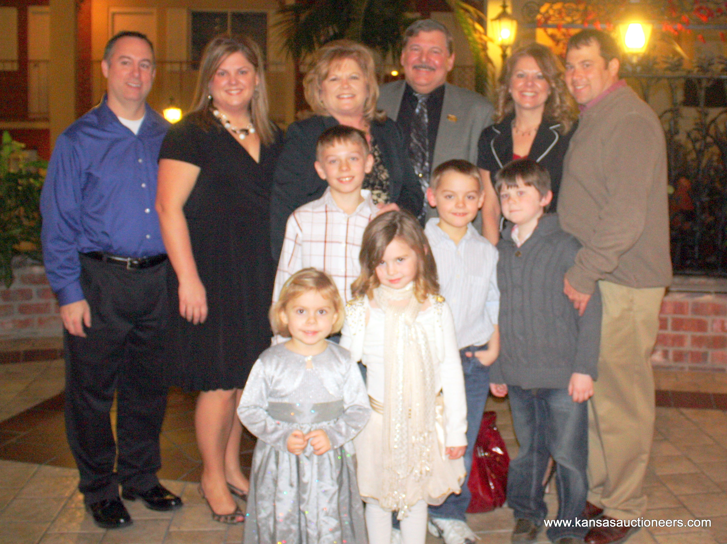 Wayne Pagel – Hall of Fame Inductee and family