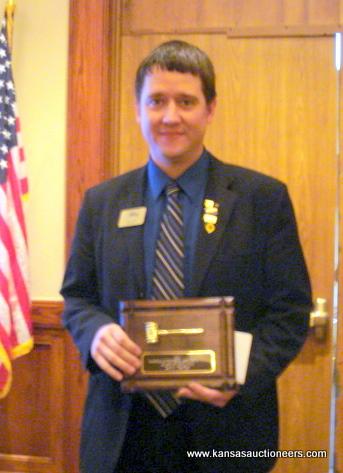 Award of Distinction recipient Aaron Traffas