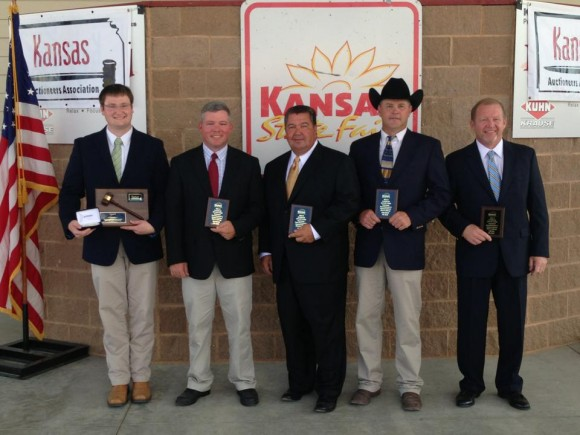 2013 Kansas Auctioneer Championship Justin Schultis is the winner of the 2013 KAA auctioneer contest