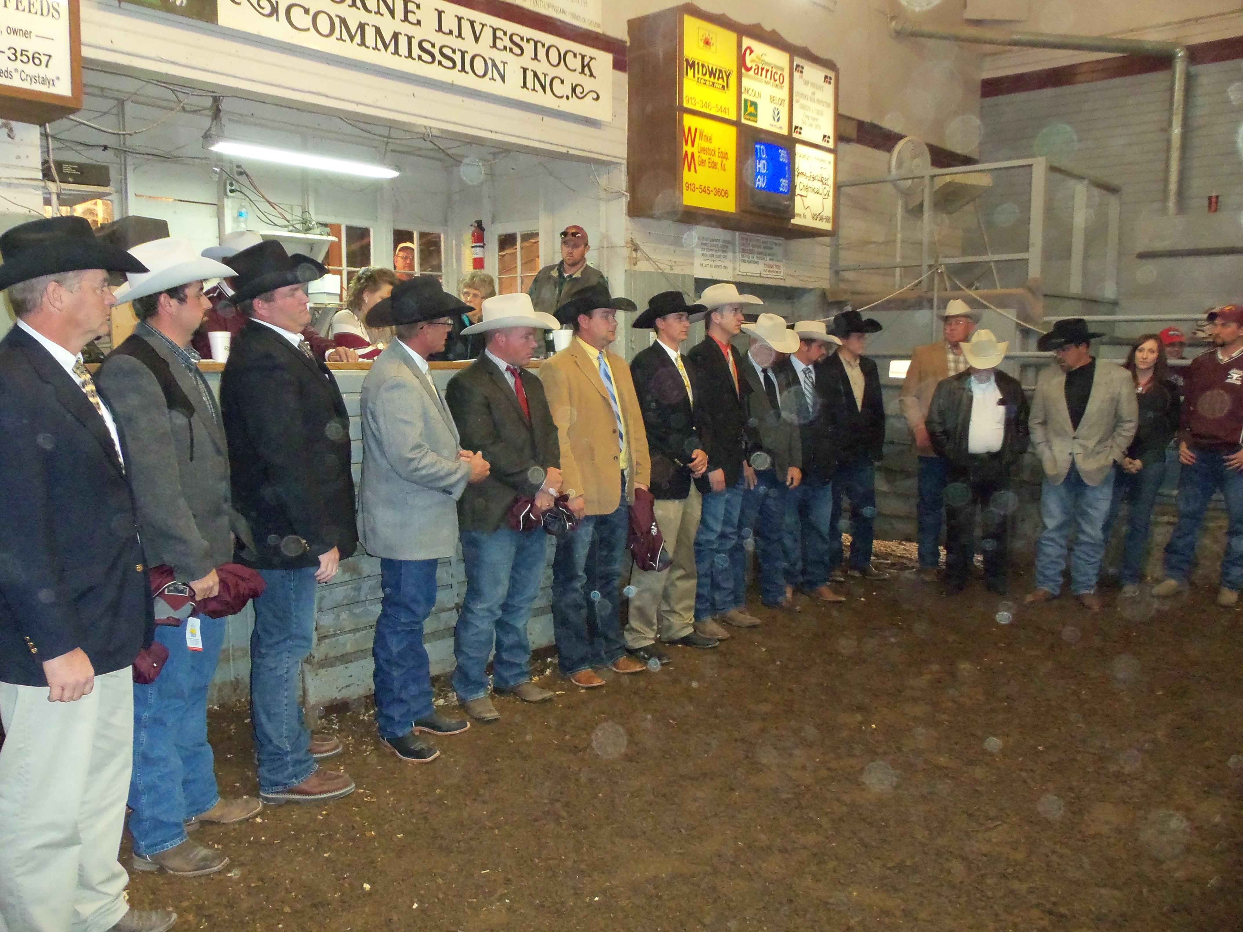 Livestock Contestants