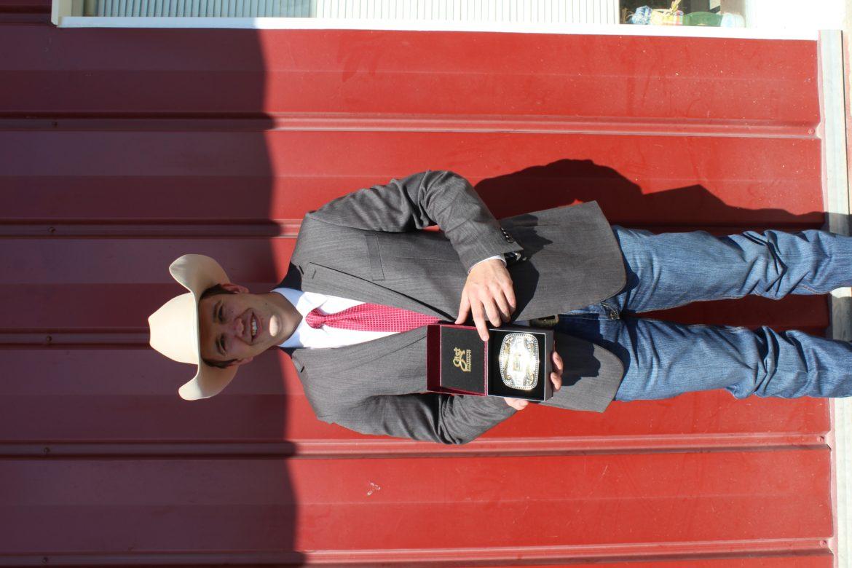 2108 Kansas Livestock Champion - Ethan Schuette
